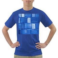 Wall Tile Design Texture Pattern Dark T-Shirt