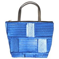 Wall Tile Design Texture Pattern Bucket Bags