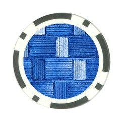 Wall Tile Design Texture Pattern Poker Chip Card Guard (10 pack)
