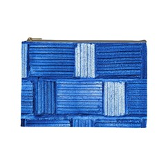 Wall Tile Design Texture Pattern Cosmetic Bag (Large)