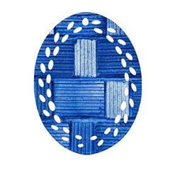 Wall Tile Design Texture Pattern Ornament (Oval Filigree)