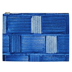 Wall Tile Design Texture Pattern Cosmetic Bag (xxl)