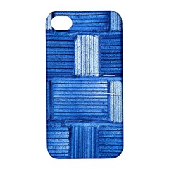 Wall Tile Design Texture Pattern Apple Iphone 4/4s Hardshell Case With Stand