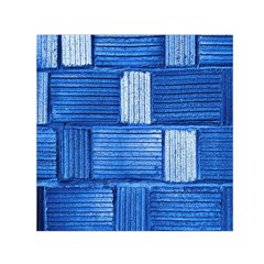 Wall Tile Design Texture Pattern Small Satin Scarf (square)