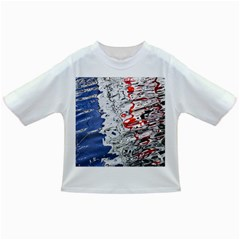Water Reflection Abstract Blue Infant/toddler T Shirts