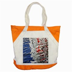 Water Reflection Abstract Blue Accent Tote Bag