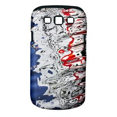 Water Reflection Abstract Blue Samsung Galaxy S Iii Classic Hardshell Case (pc+silicone)