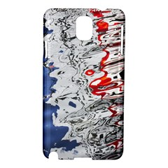 Water Reflection Abstract Blue Samsung Galaxy Note 3 N9005 Hardshell Case