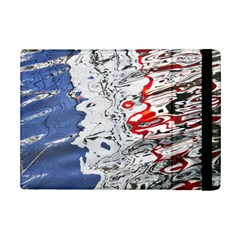 Water Reflection Abstract Blue Ipad Mini 2 Flip Cases