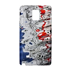 Water Reflection Abstract Blue Samsung Galaxy Note 4 Hardshell Case