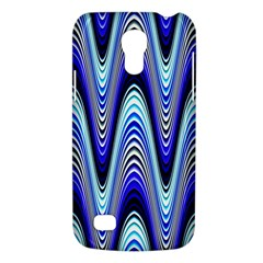 Waves Wavy Blue Pale Cobalt Navy Galaxy S4 Mini