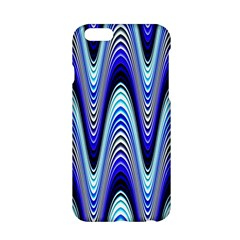 Waves Wavy Blue Pale Cobalt Navy Apple Iphone 6/6s Hardshell Case