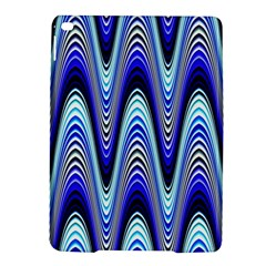 Waves Wavy Blue Pale Cobalt Navy Ipad Air 2 Hardshell Cases