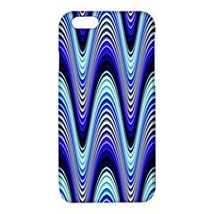 Waves Wavy Blue Pale Cobalt Navy iPhone 6/6S TPU Case