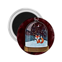 Winter Snow Ball Snow Cold Fun 2.25  Magnets