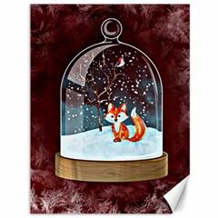 Winter Snow Ball Snow Cold Fun Canvas 36  X 48