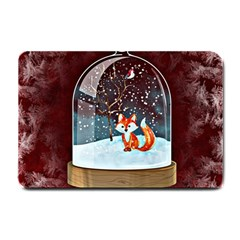 Winter Snow Ball Snow Cold Fun Small Doormat