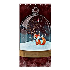 Winter Snow Ball Snow Cold Fun Shower Curtain 36  x 72  (Stall)