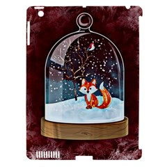 Winter Snow Ball Snow Cold Fun Apple Ipad 3/4 Hardshell Case (compatible With Smart Cover)