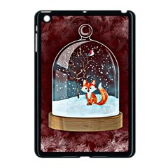Winter Snow Ball Snow Cold Fun Apple iPad Mini Case (Black)
