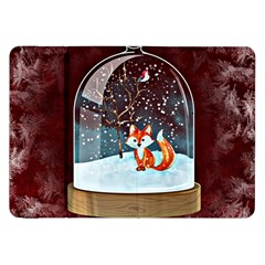 Winter Snow Ball Snow Cold Fun Samsung Galaxy Tab 8.9  P7300 Flip Case