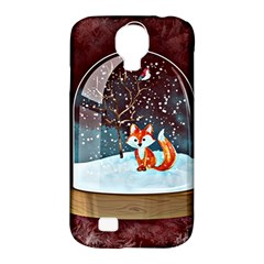 Winter Snow Ball Snow Cold Fun Samsung Galaxy S4 Classic Hardshell Case (PC+Silicone)
