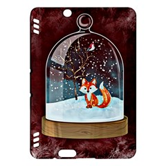 Winter Snow Ball Snow Cold Fun Kindle Fire Hdx Hardshell Case