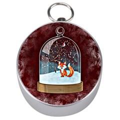 Winter Snow Ball Snow Cold Fun Silver Compasses