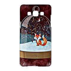 Winter Snow Ball Snow Cold Fun Samsung Galaxy A5 Hardshell Case