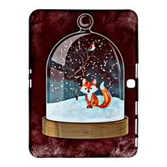 Winter Snow Ball Snow Cold Fun Samsung Galaxy Tab 4 (10 1 ) Hardshell Case