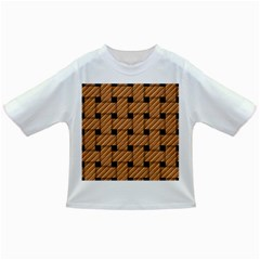 Wood Texture Weave Pattern Infant/Toddler T-Shirts