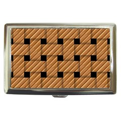 Wood Texture Weave Pattern Cigarette Money Cases
