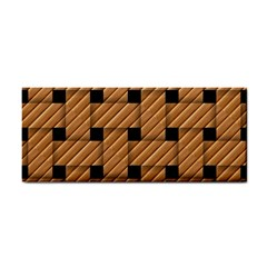 Wood Texture Weave Pattern Cosmetic Storage Cases