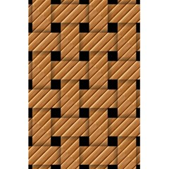 Wood Texture Weave Pattern 5.5  x 8.5  Notebooks