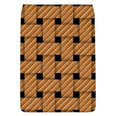 Wood Texture Weave Pattern Flap Covers (l)