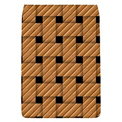 Wood Texture Weave Pattern Flap Covers (s)