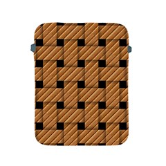 Wood Texture Weave Pattern Apple Ipad 2/3/4 Protective Soft Cases