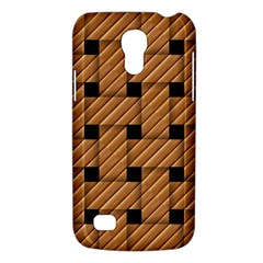 Wood Texture Weave Pattern Galaxy S4 Mini