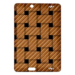 Wood Texture Weave Pattern Amazon Kindle Fire HD (2013) Hardshell Case