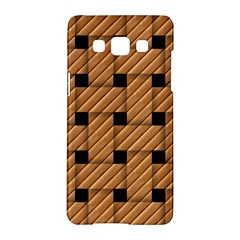 Wood Texture Weave Pattern Samsung Galaxy A5 Hardshell Case