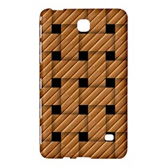 Wood Texture Weave Pattern Samsung Galaxy Tab 4 (7 ) Hardshell Case