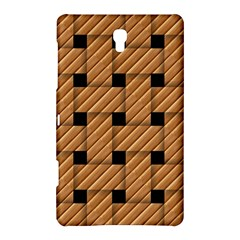 Wood Texture Weave Pattern Samsung Galaxy Tab S (8.4 ) Hardshell Case