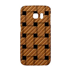 Wood Texture Weave Pattern Galaxy S6 Edge