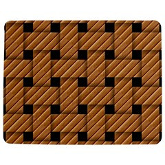 Wood Texture Weave Pattern Jigsaw Puzzle Photo Stand (Rectangular)
