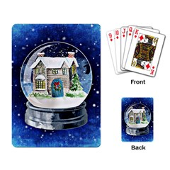 Winter Snow Ball Snow Cold Fun Playing Card