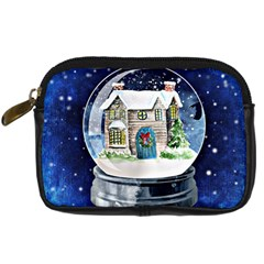 Winter Snow Ball Snow Cold Fun Digital Camera Cases