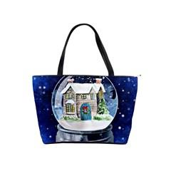 Winter Snow Ball Snow Cold Fun Shoulder Handbags