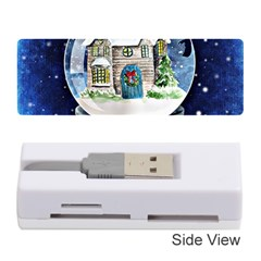 Winter Snow Ball Snow Cold Fun Memory Card Reader (stick)
