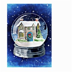 Winter Snow Ball Snow Cold Fun Large Garden Flag (two Sides)