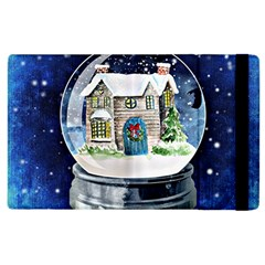 Winter Snow Ball Snow Cold Fun Apple Ipad 2 Flip Case